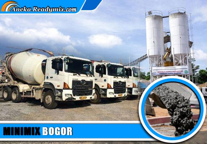 harga beton minimix Bogor