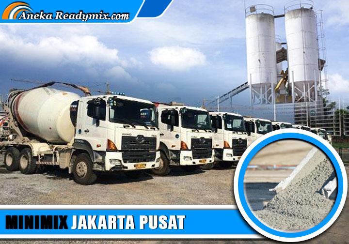 harga beton minimix Jakarta Pusat