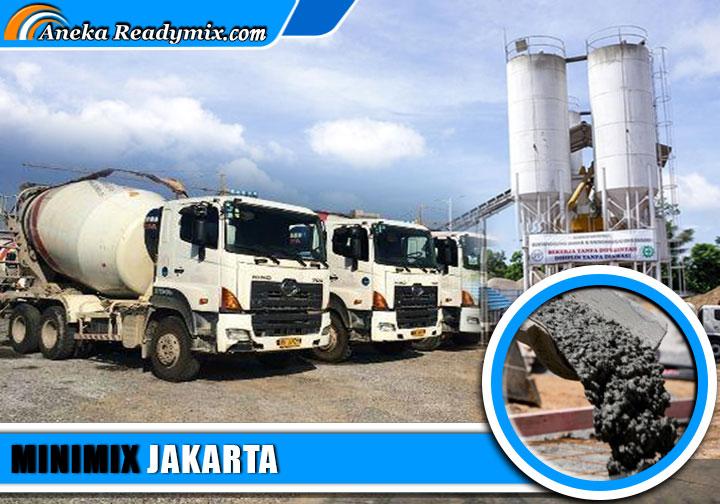 harga beton minimix Jakarta